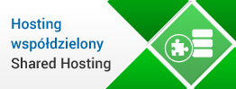 Hosting współdzielony Shared Hosting - oferta